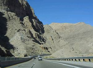 Kiewit Construction Company did a remarkable job of protecting the natural splendor of the Virgin River Gorge as they built the I-15 Highway.