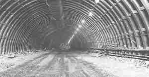 Four construction companies built the Eisenhower Memorial Tunnel under the Contental Divide in Colorado.