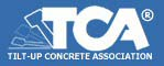 Logo for Tilt-Up Concrete Association TCA - General Contractor Bob Moore Construction Company is a member of TCA