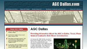 Featured Construction Company Website - AGC Dallas.com