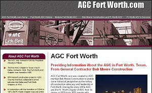 Featured Construction Company Website - AGC Fort Worth.com